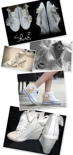 Wedding Sneakers for Brides - From Flats to Heels - Wedding Sneaker Inspiration