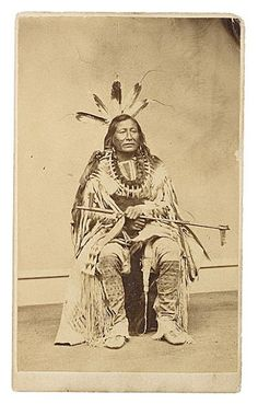 Son Of The Star (aka Rushing Bear) the son of The Star - Arikara - 1870