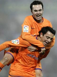 Iniesta & Xavi