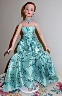 """18"""" Kitty Collier by Robert Tonner, gown designed by Elizabeth Payne"""