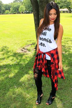 6 Cute Summer to Fall Outfits//Belinda Selene