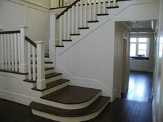 craftsman staircase landing - Google Search