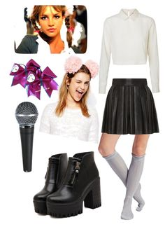 Britney by pgallardob91 on Polyvore featuring polyvore, fashion, style, Vero Moda, Alice + Olivia, Wet Seal, Dr. Martens, ASOS, Britney Spears and clothing