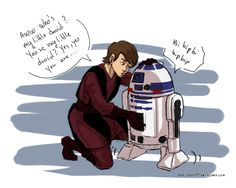 Who's my little droid by rayn44 on DeviantArt Anakin and R2-D2