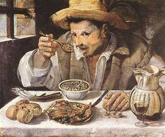 © Annibale Carracci - Mangiafagioli (c. 1583)