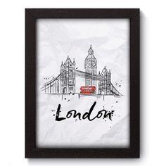 Quadro Decorativo - Londres - 141qdm