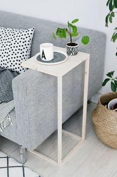 diy ideen möbel wohnideen wohnzimmer beistelltisch