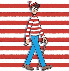 Play a real life version of Where's Waldo?