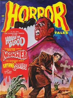 Cover for Horror Tales (Eerie Publications, 1969 series) #v4#1