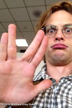 Matthew Gray Gubler. Love it