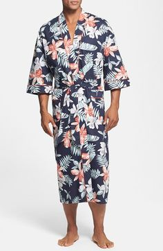 Majestic International 'Tropical Punch' Kimono Robe available at #Nordstrom