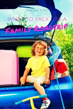 What to pack for a family road trip -- some good ideas of what to pack for a roadtrips including one book that will help you find the best roadside diners.