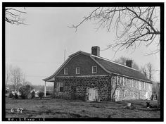 2.  Historic American Buildings Survey R. Merritt Lacey, Photographer April 23, 1936 EXTERIOR - WEST AND NORTH ELEVATIONS - Zabriskie-Steuben House, New Bridge Road, River Edge, Bergen County, NJ