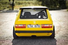 Volkswagen Golf mark 1 #vw #golf