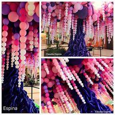 first birthday party idea Balloon Columns, Balloon Garland, Balloon Tree, Hanging Balloons, Balloon Decorations Party, Birthday Party Decorations, Diy Birthday, Birthday Parties, Birthday Tree