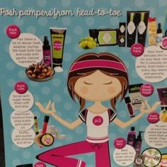Pampering from head to toe <3 Want free and half priced products? Contact me today to learn how you can have free products. www.perfectlyposh.com/areyouposh