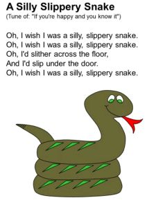 A Silly Slippery Snake Song