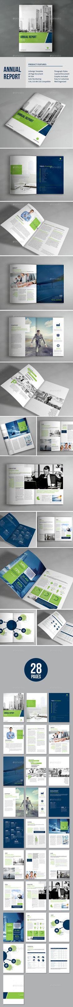 Annual Report Template Annual reports, Design layouts and Print - annual report template design