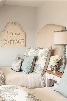 "Benjamin Moore Paint Colors. ""Benjamin Moore Edgecomb Gray. I like the soothing colors of this room"