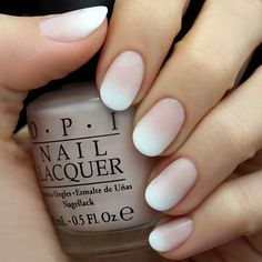 We told you that one bottle of white nail polish would be handy. This ombre French manicure calls for white and a pale pink. Sponge a bit of white gently on top of your pink nails for a romantic play on a classic.