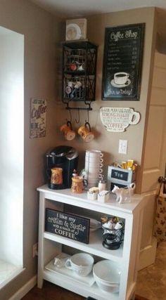 Shop the Look Coffee Bar