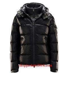 Moncler Outlet UK 2014 New Mens Zin Quilted Down Jacket Black
