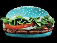 Pan hamburguesa de colores