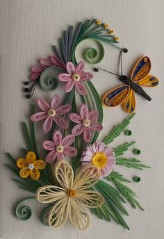 I am starting to really like quilling. Some people have done amazing work.