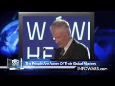 """ALEX JONES WITH SOME GOOD NEWS FOR A CHANGE: NWO IN DEEP TROUBLE. In a recent speech at an event for the European Forum For New Ideas, former U.S. National Security Advisor Zbigniew Brzezinski expressed that """"populist activism"""" and the """"resistance"""" movement were hindering the globalist march towards a new world order."""