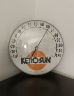 Vintage Thermometer KeroSun 1960's Thermometer by oZdOinGItagaiN, $40.00