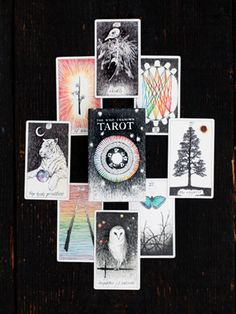 The Wild Unknown Tarot deck