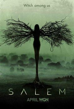 Salem poster Metal Sign Wall Art 8in x 12in