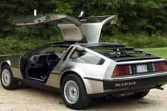 The DeLorean DMC-12  originally manufactured in Dunmurry, a suburb west of Belfast, Northern Ireland by John DeLorean's DeLorean . With its gull-wing doors,brushed stainless steel panels, this car became iconic for its appearance as a time machine in the Back to the Future film franchise. Back to 1066 Doc...