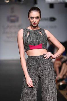 Veda Raheja at Lakme Fashion Week 2014  #JabongLFW #LakmeFashionWeek