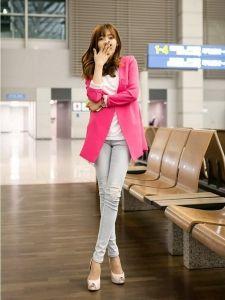 J73220 Korean Style Fashion Slim Suit