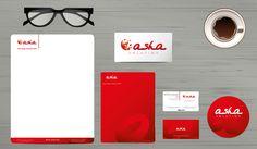 ASHA: Diseño de logotipo para empresa de tecnología.