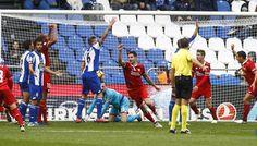 Vitolo en el Deportivo Coruña 2 - Sevilla 3