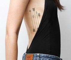 Inspiring Arrow Tattoo Designs and Patterns