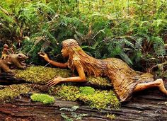 Bruno Torfs created this magical and fantasy-like rain forest in Marysville, Australia, for art and garden lovers of all ages. February 11, 2009 they were destroyed by wildfires.