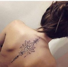 43 Mejores Imágenes De Tatuajes Para Mujer En La Espalda Baja En 2018