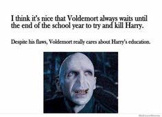 Harrys education
