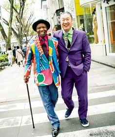 武器を捨てよ、スーツを着よう!──山本寛斎とサプールが着飾る理由 メンズファッションニュース GQ JAPAN