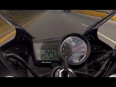 Top Speed Yamaha YZF R15 2013, K&N filter (HD1080p) (+lista de reproducc...