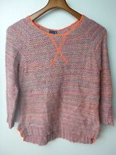 NWT (M) August Moon Long Sleeve Crew Neck Sweater Multi-Color (In-28)