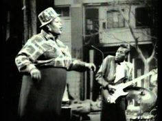 """music video:  Before Elvis and Janis there was Big Mama Thornton   """"You ain't nothing but a Houndog'"""