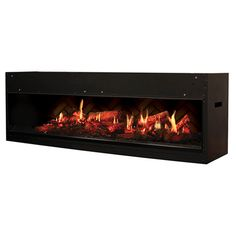 Hands down there is no other electric fireplace insert out there that can even come close to the realism produced by the stunning firebox. Dimplex pulled out all the stops for the Opti-V Built-In Electric Fireplace. The Opti-V makes use of the latest advancements in artificial flame technology and blends them into this one unit.