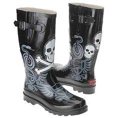 Chooka Boot Women's Chooka Shoe : waterproof rain boots boots graphic motif