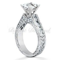 Antique Princess Cut Diamond Engagement Ring Set Under 1500 37 Rings 500 Dream