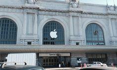 アップルのイベント会場に林檎ロゴがやってきた!