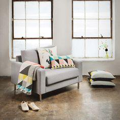 Windows / pillows / armchair